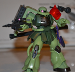 Zaku II Chirico Cuvie Custom by CyborgoPlus
