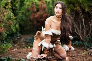 Nidalee - League of Legends by Paper-Cube
