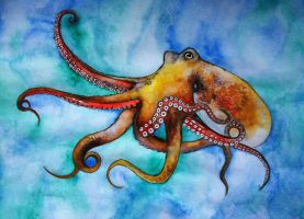 Octopus by Sonic-Steph