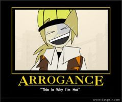 Arrogance by abaikgirl