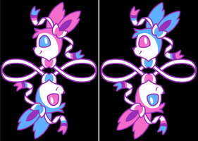 Sylveon Design by ToonSkribblez
