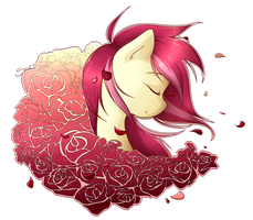 Roseluck by secret-pony