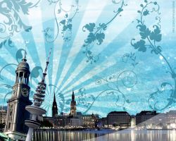 Hamburg Wallpaper by BeJay