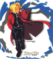 Edward Elric Drawing 2 by andys184