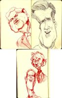 2012 Republican Candidates by DoodleArtStudios