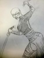Ventress Quick Sketch by hbrika