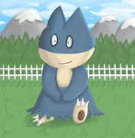 AT - Munchlax by AlwxIV