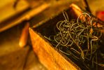 Abandoned Silk Mill, Box Of Wire by cjheery
