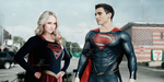+Supergirl and Superman by JaneQuintana