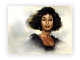 Whitney Houston by simonhayag
