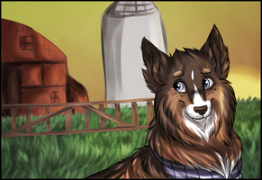 The good ol' farm by Mishamutt