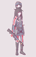 Valkuuria Chronicles Sketch by calponpon
