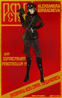 The Red Heroine ( Aleksandra Gorbachev) (Origns) by fORCEMATION