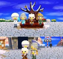 ACNL: Family Photo by Ooh-A-piece-of-Candy