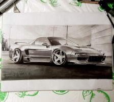 Honda NSX by sanchez567