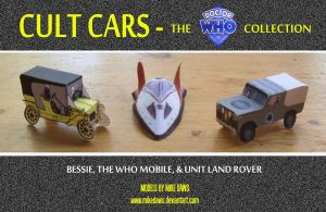 Cult Cars - Dr Who Collection by mikedaws