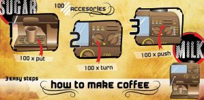 How to make a Coffe by Tyzyano
