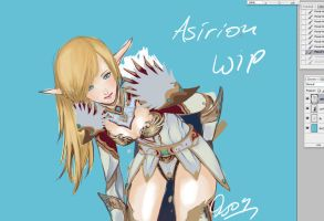 Asirion WIP by Caley-san