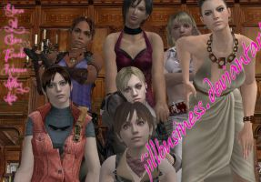 Resident evil Females by JillBusiness