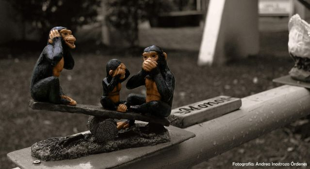 The three wise monkeys by Andreamacka