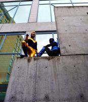 Fanime 2011 - Gold and Blue by Cosphotos