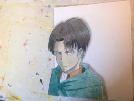 3D Levi by AnimeLoverOCD