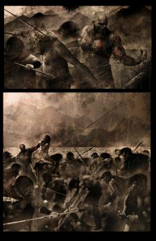 God of War 2, preview page by Sorrentino82