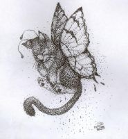 Stippled Butterfly by calonarang