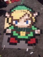 Pixel Pillow Progress All layed out by PieMasterr