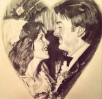 Wedding Couple (pencil) by R053DR4GON
