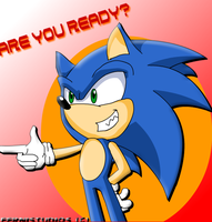 SONIC 'ARE YOU READY'? by ferni2007001