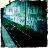 train graffity by RoundDrop