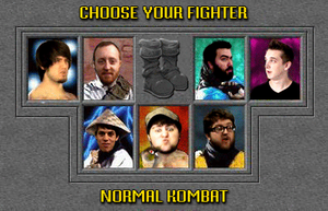 Normal Kombat by crookedcartridge