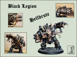 Hellbrute of the Black Legion by Knyghtos