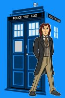 the eighth Doctor by AlanSchell