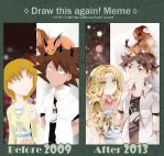 .DRAW THIS AGAIN: 2009vs2013. by Hetiru