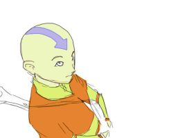 Aang by slyshand
