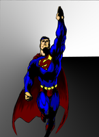 Superman-Colored by vitasimplex