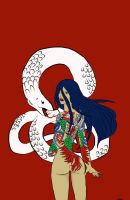 White Snake by Golden-Ares