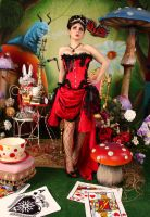 Pin Up Queen of Hearts 4 by ThePrincessNightmare