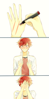 ~ Mikorin Blushing ~ by NekoxCat