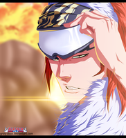 Bleach 561 - Renji Abarai Coloring by Gray-Dous