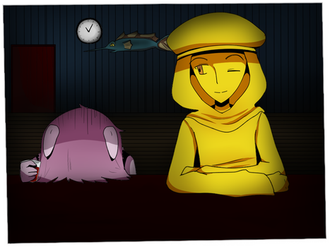 Stephano can hold his liquor by Jennifer-The-Boulder