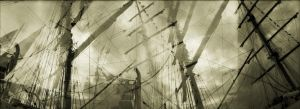 city of masts, study 1 by CorsoDomenic