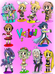 All the Vocaloids-Digital ver. by FENNEKlNS