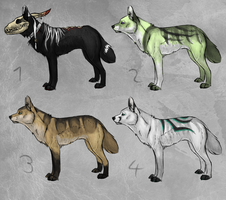 Wolves closed by LunAdopts