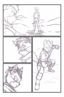 Unfinish Starfox comic by RaxkiYamato
