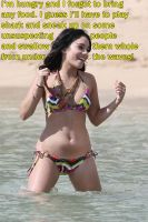 Vanessa Hudgens Hungry at the Beach by MaxKelso