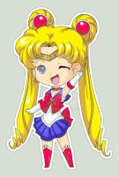 Sailor Moon Chibi Sticker by Kalisama