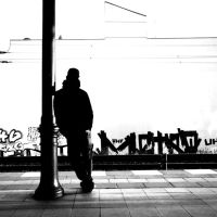 waiting for somebody by augenweide